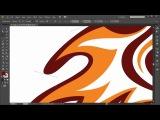 Курс по векторному рисованию в Illustrator для начинающих. Урок 1